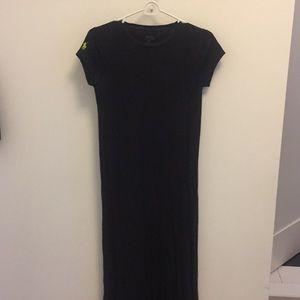 Black maxi knit Ralph Lauren dress